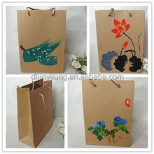 Chinoiserie paper bags