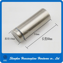 High precision glass fastening screws standoff screw for glass