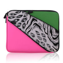 China supplier factory custom neoprene laptop sleeve without zipper