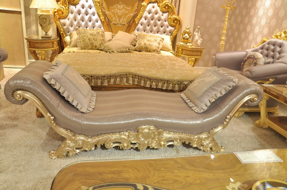 luxe baroque style double lit king size avec royal couvert et gold as6201 literie id de produit. Black Bedroom Furniture Sets. Home Design Ideas