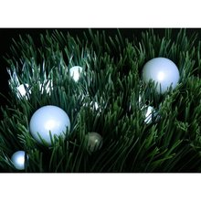 Waterproof Outdoor Crystal Ball Globe Round LED Fairy Pearl Lights For Wedding