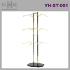 Ramie Hanger, Mannequin, Rack & Paper Products supplier: Titanium Gold Display Lingerie Hanger Rack