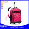 2015 fashion designer gym leisure backpack bag hot sale colorful trolley backpack for weekend sport tote bag