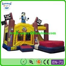 2015 Enjoy module/hello kitty/animal/cartoon/inflatable slide jumper combo bouncer