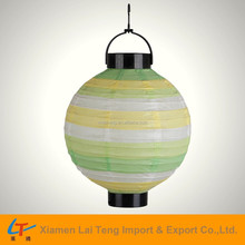 Assorted paper lantern in different colors and different sizes Chinese lantern for sale