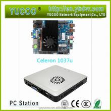 Mini PC Intel Celeron 1037U dual core 1.8GHZ with Intel HM77 Fan cooling