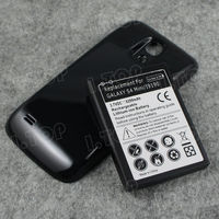 For Samsung Galaxy S4 mini i9190 extended battery with free back cover door ,3.7V 6200mAh, Made in china
