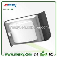 1w portátil a prueba de agua de la puerta de carga solar barata precio de la lámpara