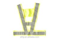 polyester reflective vest with EN471 standard for police