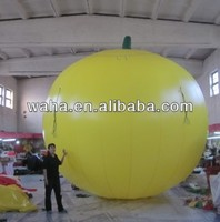Advertising/exhibition/promotion fruit/inflatable orange