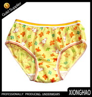 Customized high quality colorful thongs underwear for children