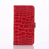 Hot Mobile Accessory Luxury Crocodile Texture Leather Case For Samsung S6,For Samsung S6 Leather Case