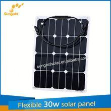 Sungold new design flexible cheap solar panels china