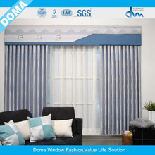 100% Polyester fabric window curtain
