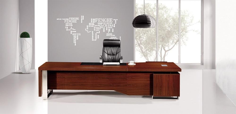 Dise o italiano de escritorio de oficina de madera maciza for Oficina western union sevilla