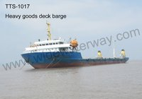 TTS-1017: 4700 t Heavy Goods Self propelled deck barge for sale