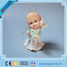 christmas resin products lovely hanging angel decoration