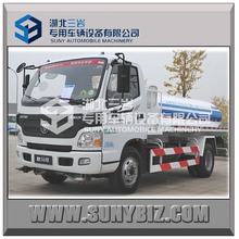 FOTON 4x2 3000-5000L water tank truck for sale