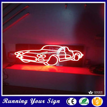 2015 New style colored advertising taxi neon signs