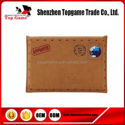 Custom envelope leather case for ipad mini tablet case
