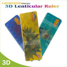 2015 NEW PRODUCTS 3D lenticular ruler for promotion