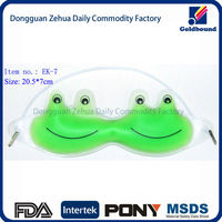 gel hot cold compress and cute animal eye gel mask with customized Size