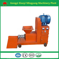 Screw type biomass waste sawdust briquette pressing machine