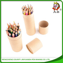 2015 pure wood high quality portable color pencil pen