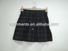 missy deinvierno de la escuela escocesa faldas ropa sexy