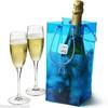 Standard one bottle wine packaging pvc ice cooler bag