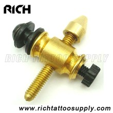 Newest Copper Tattoo Machine Parts Front Contact Binding Post Combination Set