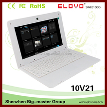 web cam Android laptop computer 10inch Android OS 1g ram 4g rom laptop dual core best for online surfing laptop computer
