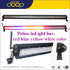 Strobe Emergency Red Blue Amber LED Warning Light,12V Waterproof RGB Police LED Roof Light Bar