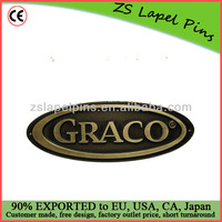 customize metal labels with engraved logo