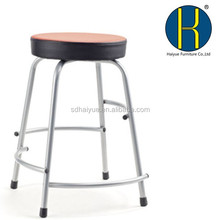 High quality colorful school chair stool /round seat study chair for kids or student