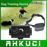 High Quality New Brand Waterproof Dog Electronic Product Smart Pet Fencing System Collares Dog Accessories BLACK GDA0009