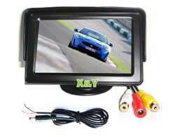 4.3 inch TFT LCD Car Monitor / 4.3 LCD Monitor with hdmi input (XY-2036)