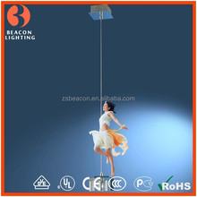 Alibaba Europe hot sale top grade one light modern crystal mini pendant light for dinning room MP8173-1