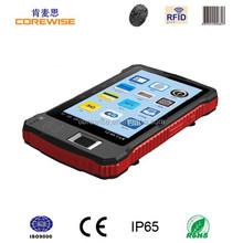 """android smart 7"""" rugged barcode rfid fingerprint scanner tablet pc with fingerprint reader"""