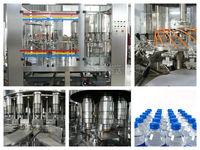 Pure water filling bottling machine