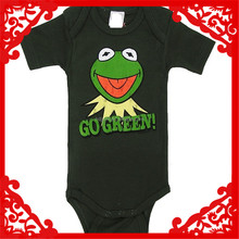 High Quality 100% Cotton Baby Romper baby all black clothing