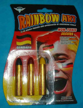 fans safe face paint crayon, safety face paint stick for kids and adult use