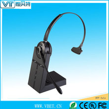3.5mm Connectors Retractable contact centre headset with rj09 jack