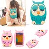 best selling Frosted owl pattern case for iphone 6 6s for Samsung s5/s6