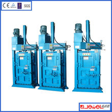Textile and Used Clothes Pressing Baler Machine
