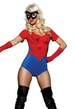 conjoined con disfraz de spiderman