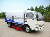 4x2 2 Tons Road Sweeper Truck For Sale