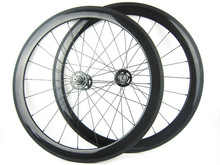 Paypal Accept 60mm Clincher Carbon Fiber Track wheel,Fixed Gear 23mm width