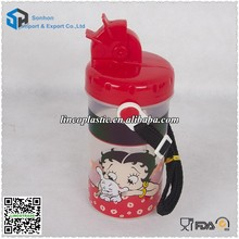 New Style Plastic Children Water Bottle With Lid
