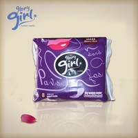 2015 NEW russian fan-shape unscented sanitary napkin